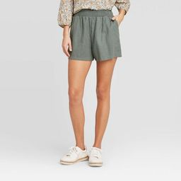 Women's High-Rise Pull On Shorts - Universal Thread™ | Target