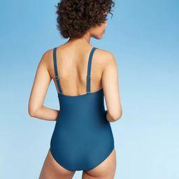Women's Ruffle One Piece Swimsuit - Kona Sol™ | Target