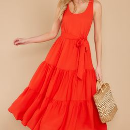 Leap Of Faith Red Maxi Dress   Red Dress