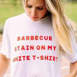 charlie southern: bbq stain t shirt | RIFFRAFF