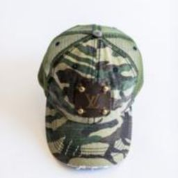 Camo Hat | Vintage Boho