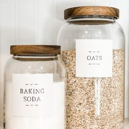 Cozy Cottage Pantry and Organization Labels | Etsy (US)