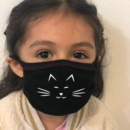 Reusable Kid Face Mask For Age 3 to 12 - Protective Soft - MADE In USA - Hand Made, Washable. Wit...   Etsy (US)
