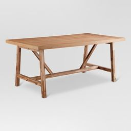 Wheaton Farmhouse Trestle Dining Table - Threshold™ | Target
