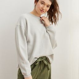 Aerie New Love Corded Oversized Sweatshirt   American Eagle Outfitters (US & CA)