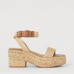 Platform sandals   H&M (UK, IE, MY, IN, SG, PH, TW, HK, KR)