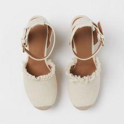 Wedge-heeled sandals   H&M (UK, IE, MY, IN, SG, PH, TW, HK, KR)