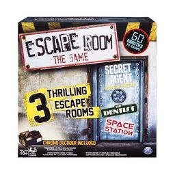 Spin Master Games - Escape Room The Game with 3 Thrilling Escape Rooms to Play, for Ages 16 and U... | Walmart (US)