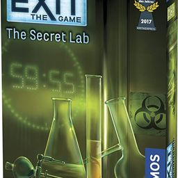 Exit: The Secret Lab | Exit: The Game - A Kosmos Game | Kennerspiel Des Jahres Winner | Family-Fr... | Amazon (US)