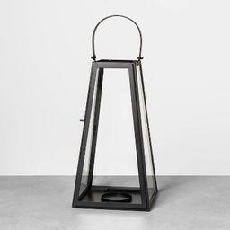 Metal Lantern Black - Hearth & Hand™ with Magnolia | Target