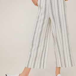Striped cotton trousers   MANGO (UK)