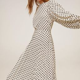 Polka-dot midi skirt | MANGO (UK)