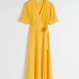 Midi Wrap Dress   & Other Stories