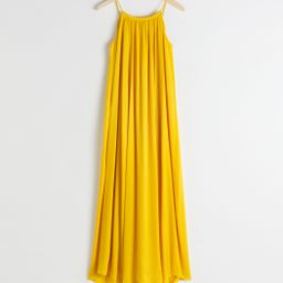 Rope Strap A-Line Maxi Dress   & Other Stories