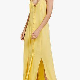 Ghost Thea Cross Back Slip Dress, Yellow   John Lewis UK