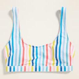 Scoop-Neck Swim Top for Women   Old Navy (US)