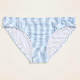 Seersucker-Stripe Bikini Swim Bottoms for Women   Old Navy (US)