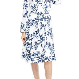 Floral Long Sleeve Shirtdress | Nordstrom