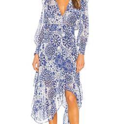 MISA Los Angeles X REVOLVE Kaiya Dress in Tile Print from Revolve.com | Revolve Clothing (Global)