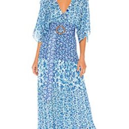 HEMANT AND NANDITA Suho Maxi Dress in Blue from Revolve.com | Revolve Clothing (Global)