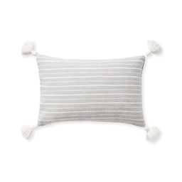 Sunbrella® Sail Stripe Pillow Cover   Serena and Lily
