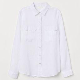 Linen blouse | H&M (UK, IE, MY, IN, SG, PH, TW, HK)