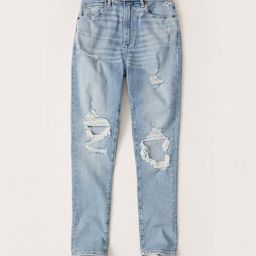 Curve Love High Rise Super Skinny Ankle Jeans   Abercrombie & Fitch (US)