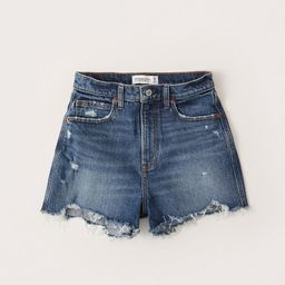 Curve Love Ultra High Rise Mom Shorts   Abercrombie & Fitch (US)