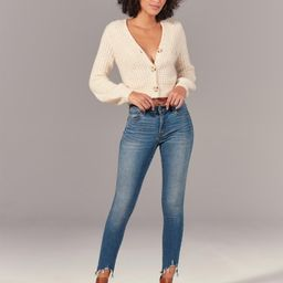 Mid Rise Super Skinny Ankle Jeans   Abercrombie & Fitch (US)