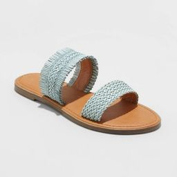 Women's Elizabeth Woven Slide Sandals - Universal Thread™ | Target