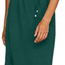 OURS Women's Casual Adjustable Spaghetti Straps Sleeveless Split Beach Midi Dresses | Amazon (US)