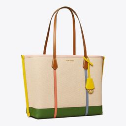 PERRY CANVAS TRIPLE-COMPARTMENT TOTE   Tory Burch (US)