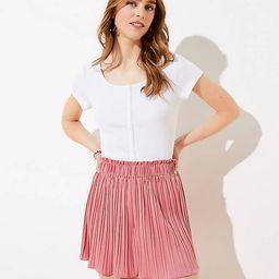 Pleated Shorts   LOFT   LOFT