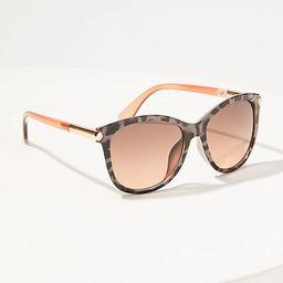 Squared Cateye Sunglasses   LOFT   LOFT