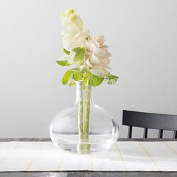Vase with Folded Rim - Clear - Hearth & Hand with Magnolia   Target