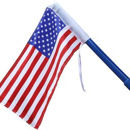 Gorilla Playsets 09-1014-US American Flag Swing Set Accessory with Mounting Hardware, Red, White,... | Amazon (US)