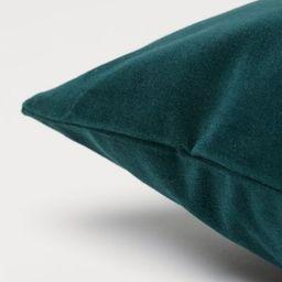 Cotton velvet cushion cover | H&M (UK, IE, MY, IN, SG, PH, TW, HK, KR)