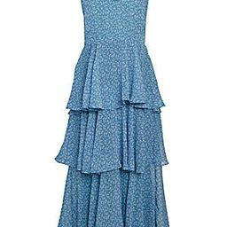 Allison New YorkPetite Floral Tiered DressColor - Floral SapphireSize - Size GuideXSSMLUSD$215.00... | Saks Fifth Avenue OFF 5TH