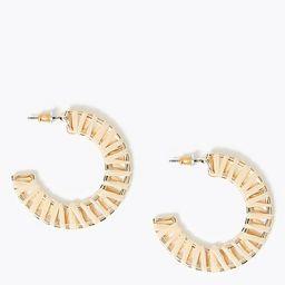 Raffia Hoop Earrings | Marks & Spencer (US)