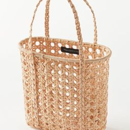 UO Cane Mini Woven Tote Bag | Urban Outfitters (US and RoW)