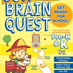 Summer Brain Quest: Between Grades Pre-K & K - Paperback   Walmart (US)
