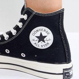 Converse chuck '70 hi black sneakers   ASOS (Global)
