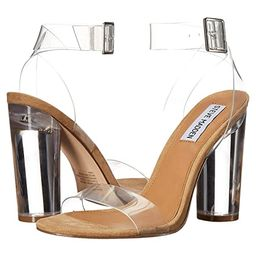 Steve Madden Clearer (Clear) Women's Shoes | Zappos