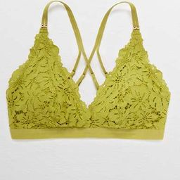 Aerie Palm Lace Plunge Padded Bralette   American Eagle Outfitters (US & CA)