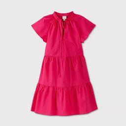 Women's Cap Sleeve Poplin Babydoll Dress - A New Day™   Target