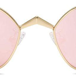 Small Cateye Sunglasses Fox Idea Designer Sunnies Fire SJ1127 | Amazon (US)