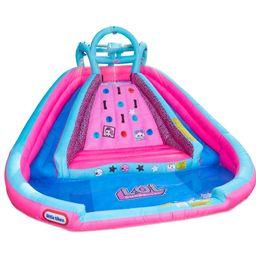 L.O.L. Surprise! River Race Water Slide Bounce House   Wayfair North America