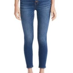 Button Front Crop Skinny Jeans | Nordstrom