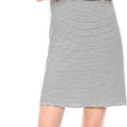 Amazon Essentials Women's Short-Sleeve Scoopneck Swing Dress | Amazon (US)
