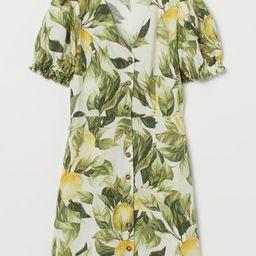 Puff-sleeved Dress               $24.99                  $19.99$24.99-20%   H&M (US)